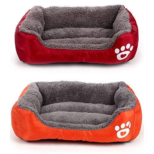 Redcolourful kussen, schattig, bedrukt, voor honden, katten, Rode wijn