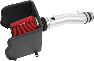 Spectre Performance Air Intake Kit with Washable Air Filter: 2016-2019 Toyota Tacoma, 3.5L V6, Red Oiled Filter with Polis...