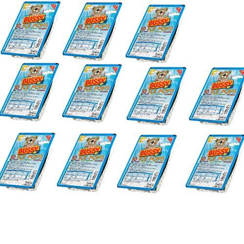 Bussy Mix Ice Pops Wassereis Schleck Drinks 11 x 10er Pack = 110 Wassereis a 40ml