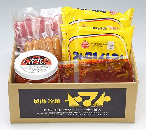 【焼肉冷麺ヤマト】焼肉屋さんのプテチゲセット