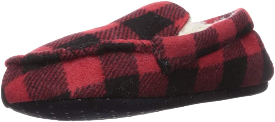 The Children's Place Baby-Boy's Fashion Slipper 3005344, Red, Youth 3-4 Regular US Toddler
