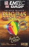 EMTEC EC-45 PHG VHS-C Videocassette (Camcorder) -