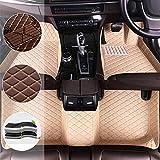 SADGE Alfombrillas De Cuero Personalizadas, para Toyota Wish 7-Seat 2005-2010 Alfombrilla De Cuero Trasera Delantera Alfombras Impermeables para Todo Clima