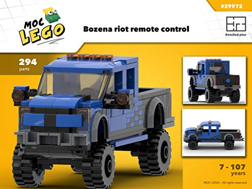 F150 Raptor / SVT (Instruction Only): MOC LEGO