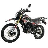 X-Pro Hawk DLX 250 EFI Fuel Injection 250cc Endure Dirt Bike Motorcycle Bike Hawk Deluxe Dirt Bike Street Bike Motorcycle,Red