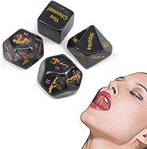 4 dobbelstenen in verschillende poses kunnen worden gebruikt voor avontuurlijk leven of vrijgezellenfeest (zwarte romantis...