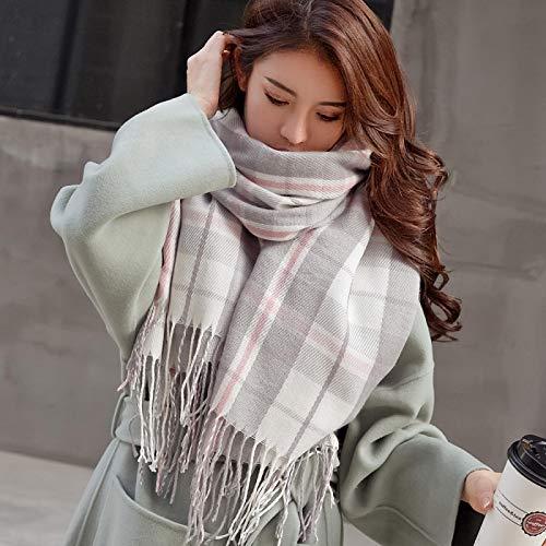 Bufanda Chal Autumn Winter Female Plaid Scarf Women Fashion Scarves Wide Lattices Long Shawl Wrap...