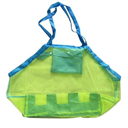 ARI-Kids Beach Dropedgies Bolsa de Hombro Malla portátil Toy Bolsa de Almacenamiento rápido Bolso Duradero Ligero y fácil de Llevar.