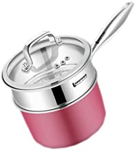 MSWL 304 Stainless Steel Steamer 2 People Home 1 Layer Small Single Layer Baby Thickened Mini Pot Baby Food Supplement Pot...