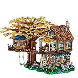 Bulokeliner Bausteine Architektur Modell Street View Baumhaus Architektur Modellbau 4761Teile Bausteine Kompatibel mit Lego