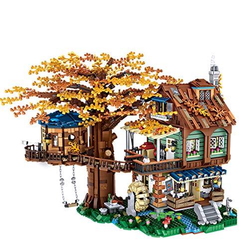 Bulokeliner Bloques de construcción para construcción modelo Street View, construcción de maquetas, 4761 piezas, compatible con Lego