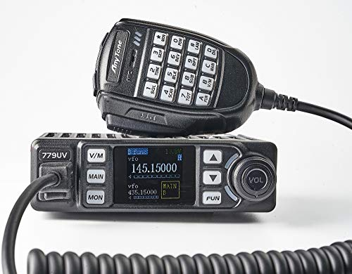 AnyTone AT-779UV - Emisora móvil Doble Banda (VHF/UHF, 144-146/430-440 MHz) radioaficionado