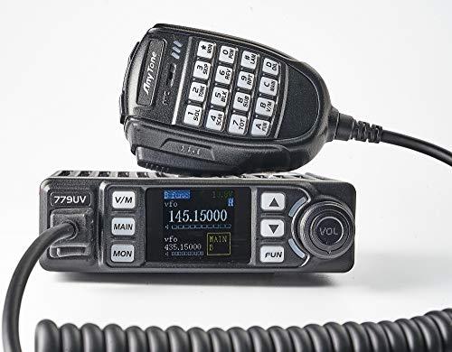 AnyTone AT-779UV - Emisora móvil Doble Banda (VHF/UHF, 144-146/430-440 MHz) radioaficionado