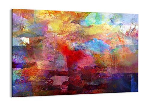 ARTTOR Cuadros Modernos Baratos - Lienzos Decorativos - Cuadros Decoracion Salon - Tríptico De Pared - Muchos Tamaños y Varios Temas Gráficos - AA100x70-3574