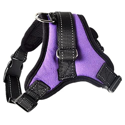Cinturones de seguridad ajustables para perros y gatos, con reflectividad de cinturón y transpirabilidad, se pueden utilizar para chalecos de arnés de perro pequeños y grandes suministros para mascota