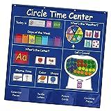 #N/A/a Circle Time Center Pocket Chart Educativo Preescolar Cuadro Educativo de Bolsillo para guardería, Escuela en casa, jardín de Infantes, Aula