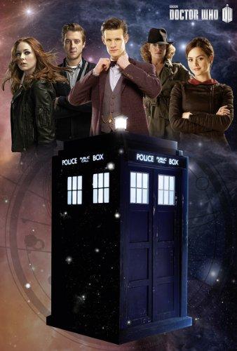 Doctor Who Poster Tardis Glow-In-The-Dark (61cm x 91,5cm)
