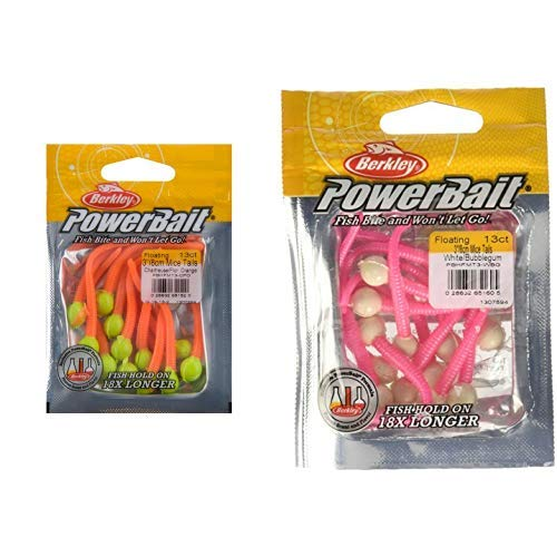 Berkley PowerBait Floating Mice Tails and Berkley PowerBait Floating Mice Tails