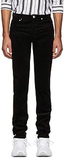 A.P.C. (アーペーセー) メンズ ボトムス・パンツ Black Corduroy Petit Standard Trousers サイズWAISTUS34 [並行輸入品]