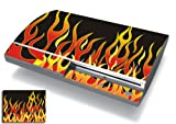 Bundle Monster Vinyl Skins Accessory For Sony Playstation PS3 Game Console - Cover Faceplate Protector Sticker...