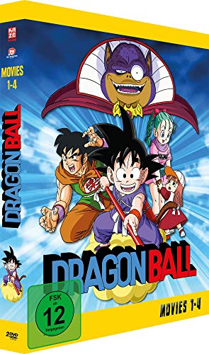 Dragonball - Movies - Gesamtausgabe - [DVD] Relaunch