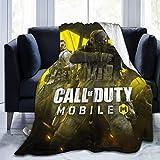 Call-of-Duty-Mobile Kuscheldecke, ultraweich, Micro-Fleece, warme Überwürfe für Couch, Sofa, Bett, Garten