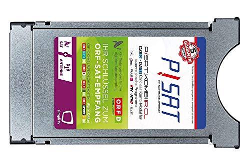 P/SAT ORF & simpliTV cardless Kombi Modul für Sat (DVB-S) und Antenne (DVB-T) mit integrierter Smartcard und ORF DIGITAL DIREKT (5 Jahre Garantie bei Registrierung!)