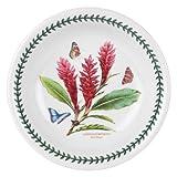 Portmeirion Exotic Botanic Garden Pasta Bowl, Set with 6 Assorted Motifs