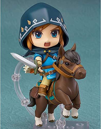 YTO Nendoroid Q Version The Legend of Zelda Link Breath of The Wild Edición Deluxe Figura Figura