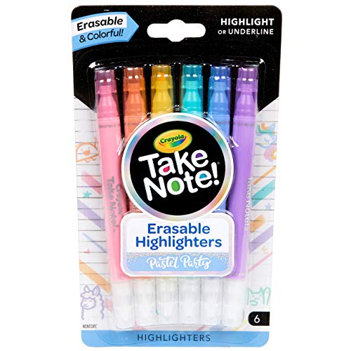 Crayola Take Note Dual Tip Highlighter Pens 6 Count Now $2.47 (Was $5.99)