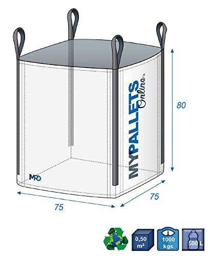 Sac Gravats & déchets 450 litres | 5 Sacs en livraison gratuite