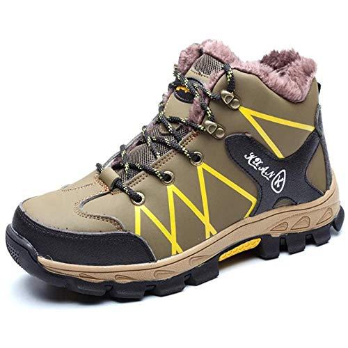 shoe Botas de Trabajo de Seguridad Ligeras para Hombres,Calzado de Invierno con Punta de Acero Calzado Deportivo para Edificios industriales,Calzado de protección Anti-pinchazos
