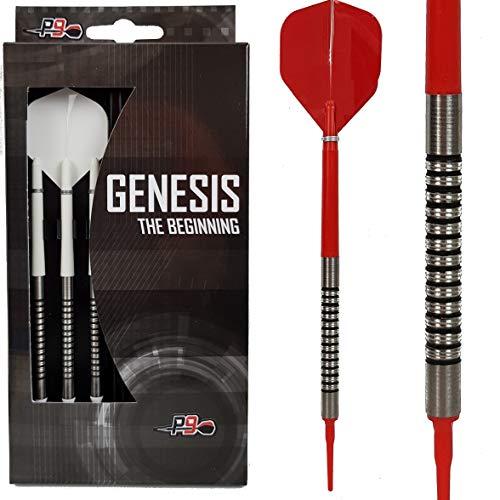 P9 Soft Dart Pfeile 85% Tungsten 18 Gramm Genesis No1 Softdart Pfeil