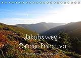 Jakobsweg - Camino Primitivo (Tischkalender 2022 DIN A5 quer): Pilgerweg von Oviedo nach Santiago de Compostela (Monatskalender, 14 Seiten )