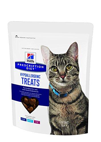 Hill' S Prescription Diet Feline Tratamiento antialérgico Comida para Gato Bolsas 6x 70g