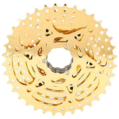 CDSL Cassette Freewheel Rueda Libre 9 Speed Road Mountain Bike Freewheel Cassette Sprocket 11-36T Accesorio De Reemplazo De Bicicletas