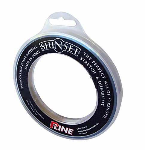 P-Line S25FC-200 Shinsei 100% Pure Fluorocarbon Leader Material, Clear