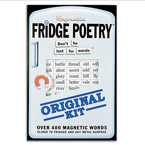 poesía de NEVERA - Magnético Palabras ¦ Original Kit - NOVEDAD Palabras REGALO POEMA MUSE IMÁN