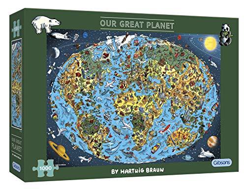 Gibsons Our Planet-Puzzle de 1000 Piezas (G7110)