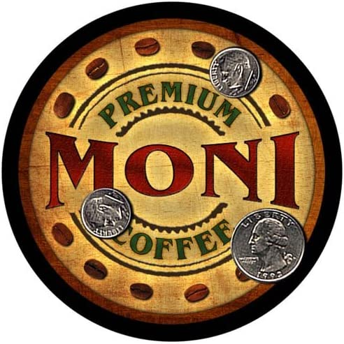 Moni Coffee Custom Neoprene Soldering Rubber 4 Coasters pcs Drink - New life