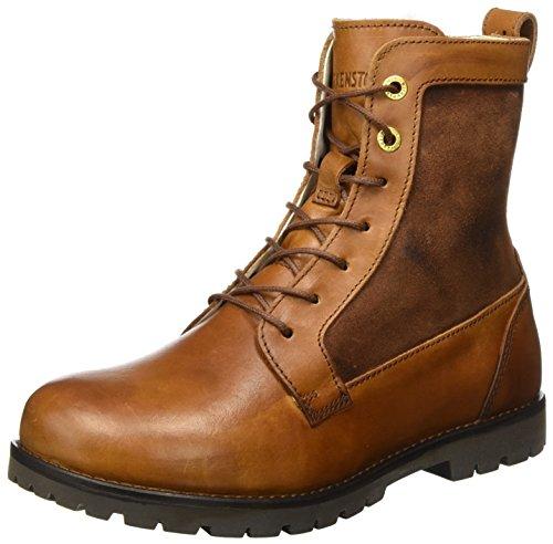 BIRKENSTOCK Shoes Damen Gilford High Combat Boots, Braun (Fur Camel), 42 EU