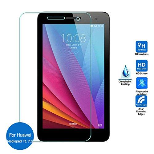 Schutzglas Folie für Huawei MediaPad T1-701u 7.0 Zoll Tablet Bildschirm Schutz 9H Schutzglas
