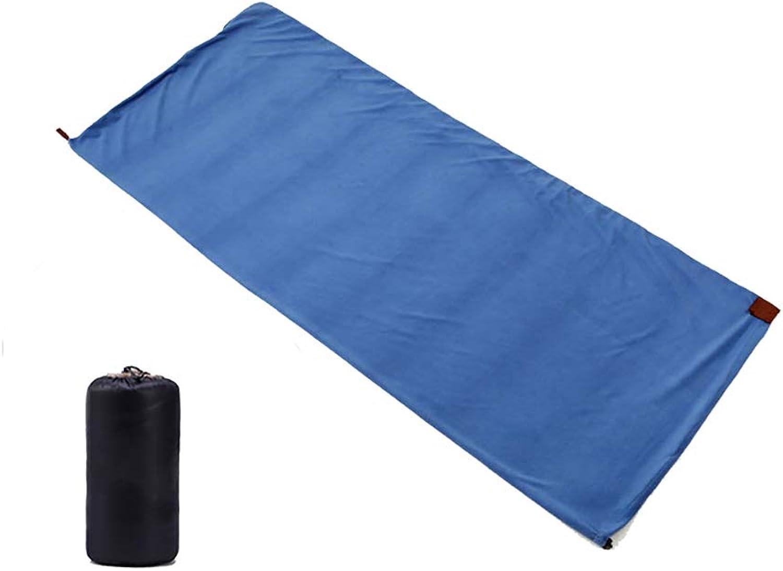 CXJC Schlafsack Inlett 180  80cm Hüttenschlafsack Vlies Dünn Leicht Atmungsaktiv Reiseschlafsack Ideal Für Backpacking Hostels Hütten 8 Farbe,Blau B07NQHK5DB  Kostengünstig
