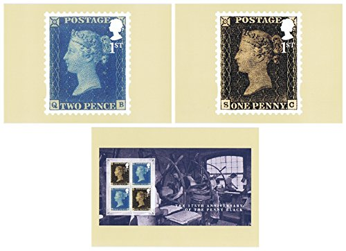 2015 Penny Black Anniversary PHQ Kaarten nee. 400 - Mint (Set van 3 Royal Mail Postkaarten)