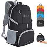 ZOMAKE Ultra Lightweight Hiking Backpack, 35L Foldable Water Resistant Travel Daypack Packable Backpack