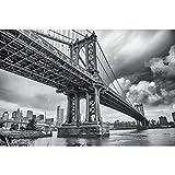 GREAT ART® XXL Poster – Manhattan Bridge New York USA