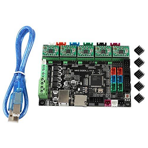 Jaimenalin Accesorios de Placa Base de Impresora 3D MKS SGen-L A4988 Driver Kit Reprap Marlin2.0