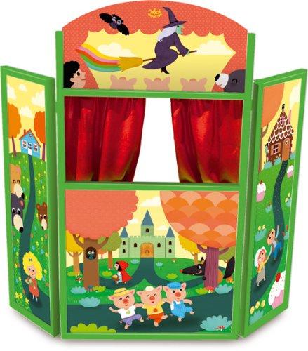 VILAC - Jouet en bois - Théâtre de marionnettes \