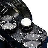 F-Foto ソフトレリーズシャッターボタン フラットタイプ 『各社カメラ対応』 (フラット、シルバー)