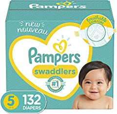Trusted protection, Pampers is the #1 U.S. Pediatrician Recommended Brand LockAway Channels absorb wetness and lock it away BreatheFree Liner helps soothe and protect baby's skin Soft Flexi-Sides for comfortable fit Gentle on baby's delicate skin, Pa...